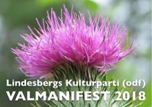 Lindesbergs Kulturparti (odf) i valmanifest: Vilka andra partier tycker som vi?