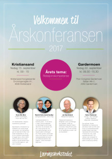 Program for Årskonferansen i Læringsverkstedet 2017
