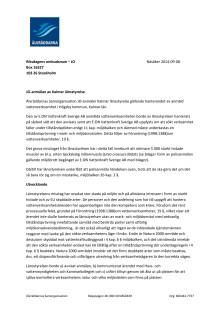 JO-anmälan av Kalmar länsstyrelse