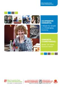 Co-operative Consortia Report (Cymraeg)