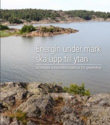 Strategisk Innovationsagenda för geoenergi är klar!