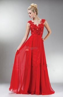 Röda aftonklänningar hos Vogeni