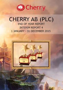 Bokslutskommuniké 2015, 1 januari - 31 december 2015