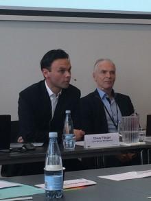 Coors vicedirektør Claus Fibiger var med i paneldiskussion på Velfærdens Innovationsdag i Øksnehallen