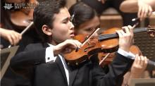 Anders Walls Giresta-stipendium till 16-årig violinist med världsrykte