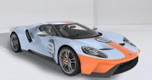 Az új, 2019-es Ford GT Heritage Edition a motorsport leghíresebb versenyautó-fényezését idézi