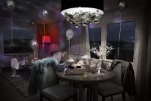 Sheraton Stockholms nyrenoverade hotellrum blir toppmodeller när svensk design lyfts i ny kampanj