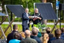 Energiministern invigde Solvåg