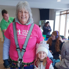 Nanna takes on bucket list challenge to raise money for The Sick Children's Trust