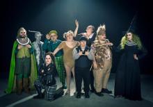 Glada Hudik-teatern till Scandinavium med Trollkarlen från Oz
