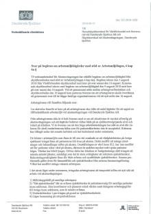 Danderyds sjukhus svar till skyddsombuden på akuten - begäran om arbetsmiljöåtgärder