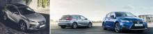 Europapremiär för uppdaterade Lexus NX och Lexus CT på Frankfurt Motor Show 2017