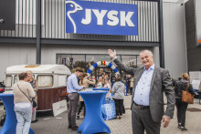 Big turnout when JYSK opened in Belgium