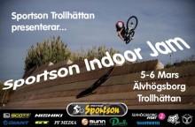 Sportson Trollhättan arrangerar Indoor Jam 2010 med Sveriges cykelelit