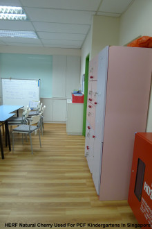 Evorich HERF Flooring Installed at Various PCF Kindergartens in Singapore