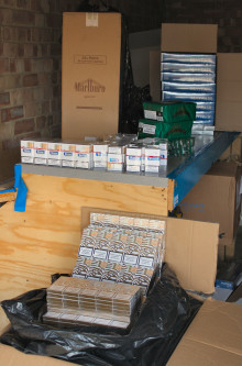 Kent man arrested on suspicion of dealing in illicit tobacco