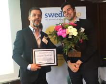 Oncopeptides vinnare av SwedenBIO Award 2017