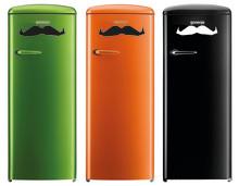 Gorenjen retrojääkaapit antavat parran kasvaa ja tukevat Movember-liikettä
