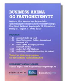 Seminarium om den Nordiska fastighetsmarknaden