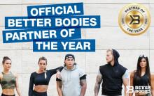 Svenskt Kosttillskott utsedd till Partner of the year av Better Bodies