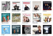 Supersuccé för RadioPlays nya poddar