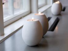 Vakker vindusbenk i betong – Inspirert