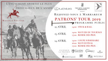 REJOINEZ-NOUS À MARRAKECH - PATRONS' TOUR DE MARRAKECH POLO CLUB JNAN AMAR, 12-14 AVRIL