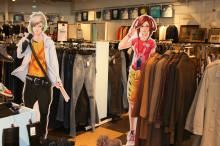 Mangafigurer arrangerar klädbytardag för bättre miljö