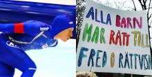 Andra halvlek i Jorden runt-loppet när olympier besöker Gotland