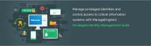 ManageEngine lanserar Privileged Identity Management lösning för att bekämpa identitetsstöld och skydda mot säkerhetshot