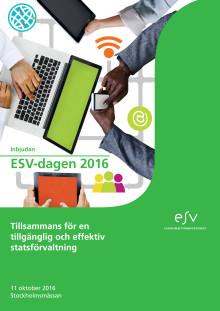 Program ESV-dagen 2016