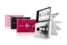 Inbyggd wifi och utfällbar skärm: Rörelsestyrd Smart Camera från Samsung