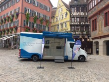Beratungsmobil der Unabhängigen Patientenberatung kommt am 7. Mai nach Tübingen.