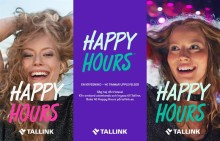 """""""Happy Hours"""" lockar svenskar till Tallinn och Riga"""