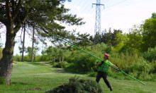 Kalmar Energi trädsäkrar kraftlinjen till Kalmar