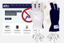 Soft Touch AB lanserar sin nya hemsida med fokus på handskar