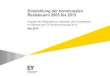 EY Analyse: Entwicklung der kommunalen Realsteuern 2005 bis 2013