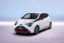 Nye Toyota AYGO – nytt ansikt og forsterket kjøreglede