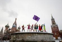 Pussy Riot till Moriska Paviljongen