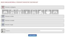 Liqui Molys nye oljeguide filtrerer på bilmerke og modell