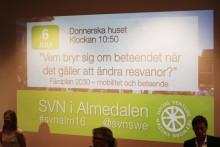 Glädjande besked på Gröna Bilisters seminarier i Almedalen