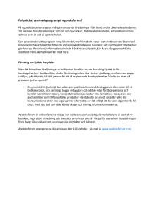 Fullspäckat seminarieprogram på Apoteksforum