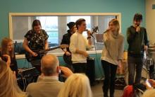 Internationellt musikprojekt på Plusgymnasiet i Jönköping