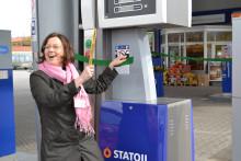 Statoil inviger Täbys första publika fordonsgasanläggning