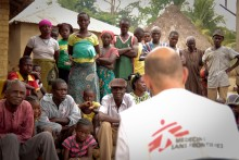 Läkare Utan Gränser återöppnar ebolaklinik i Macenta