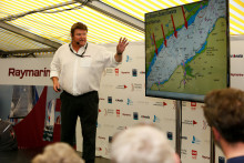Raymarine: Round the Island Race in association with Cloudy Bay - Raymarine returns to Cowes to host Live Weather Briefing