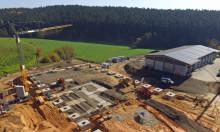 Energiewende in Wunsiedel: Grundsteinlegung für Blockheizkraftwerk und Pelletproduktion