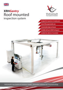 XRHGantry - Roof mounted inspection system