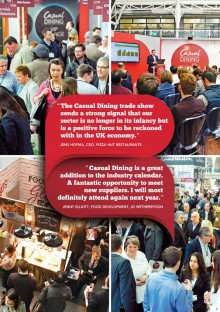 Casual Dining 2014 wows exhibitors