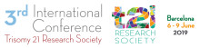 T21 Research Society 3rd International Conference in Barcelona